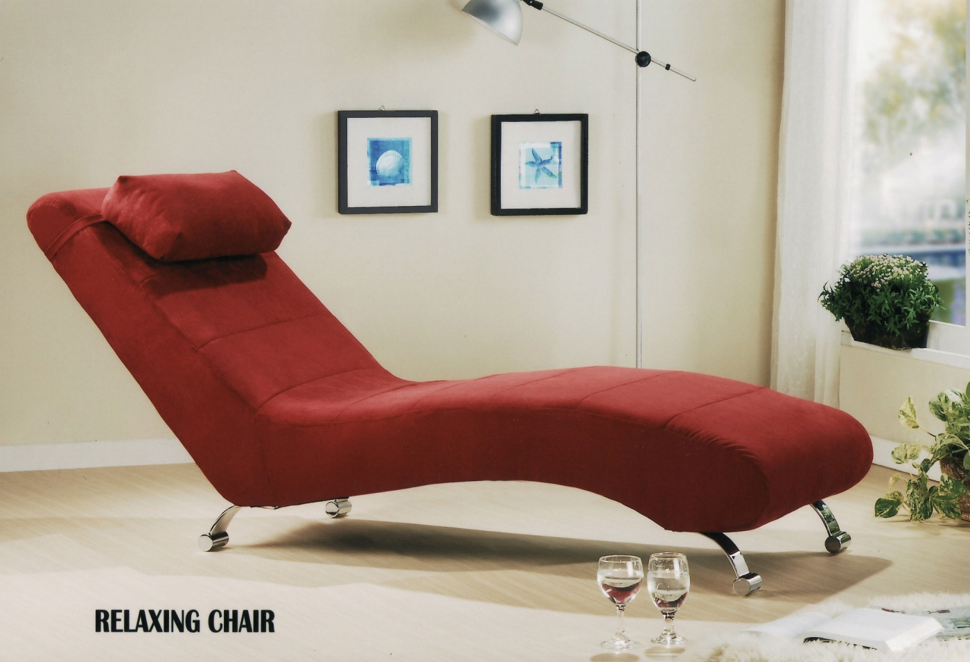 RELAXING CHAIR (RED)